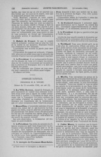 Tome 10 : Du 12 novembre au 24 décembre 1789 - page 122