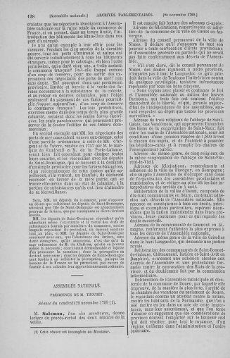 Tome 10 : Du 12 novembre au 24 décembre 1789 - page 128