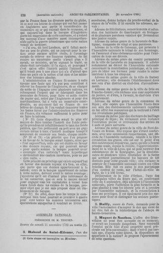 Tome 10 : Du 12 novembre au 24 décembre 1789 - page 158