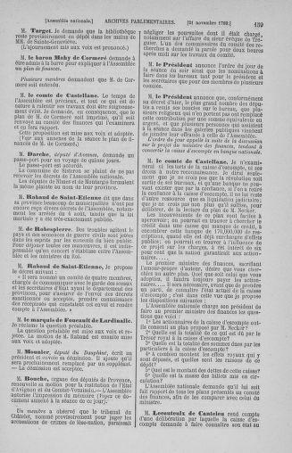 Tome 10 : Du 12 novembre au 24 décembre 1789 - page 159