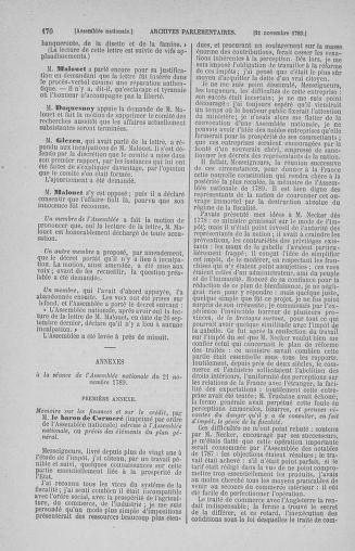 Tome 10 : Du 12 novembre au 24 décembre 1789 - page 170