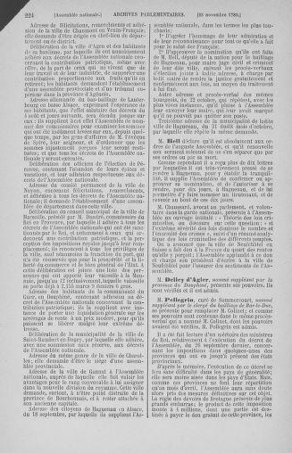Tome 10 : Du 12 novembre au 24 décembre 1789 - page 224