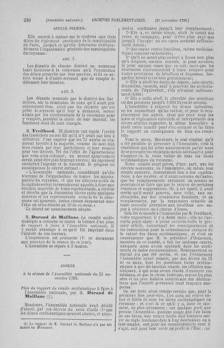 Tome 10 : Du 12 novembre au 24 décembre 1789 - page 230