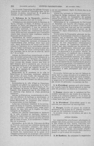 Tome 10 : Du 12 novembre au 24 décembre 1789 - page 252