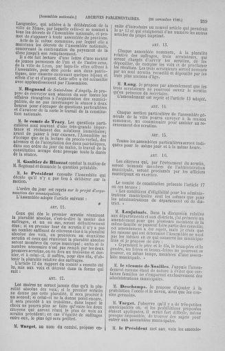 Tome 10 : Du 12 novembre au 24 décembre 1789 - page 259
