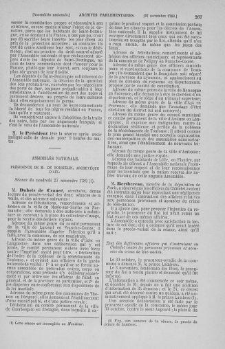Tome 10 : Du 12 novembre au 24 décembre 1789 - page 267