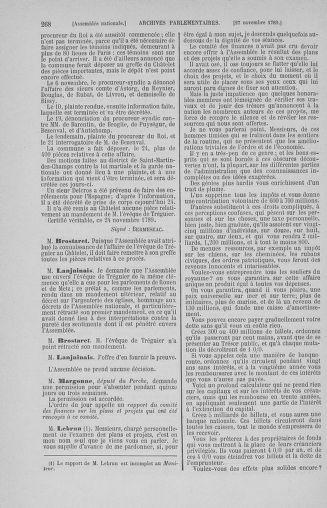 Tome 10 : Du 12 novembre au 24 décembre 1789 - page 268