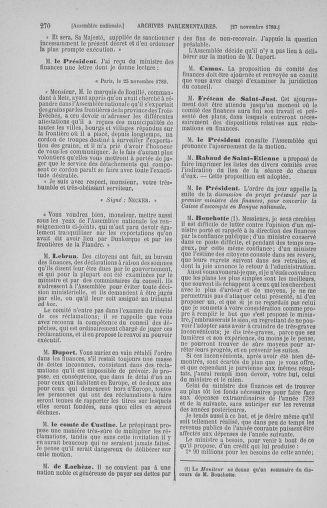 Tome 10 : Du 12 novembre au 24 décembre 1789 - page 270