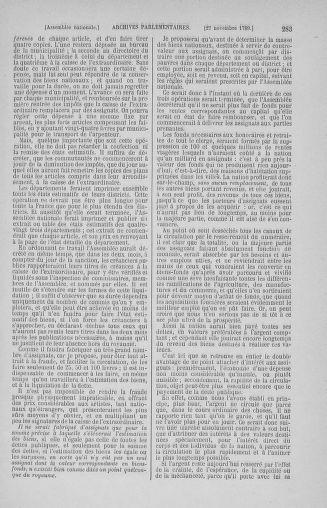 Tome 10 : Du 12 novembre au 24 décembre 1789 - page 283