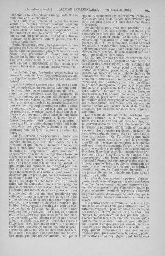 Tome 10 : Du 12 novembre au 24 décembre 1789 - page 287