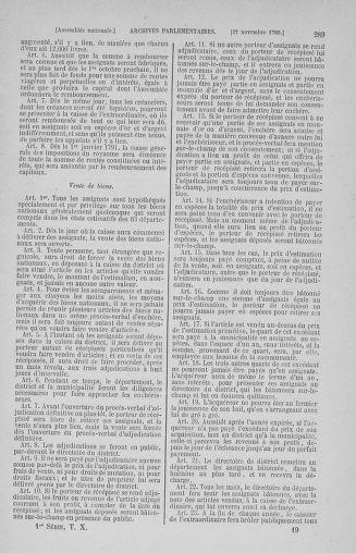 Tome 10 : Du 12 novembre au 24 décembre 1789 - page 289