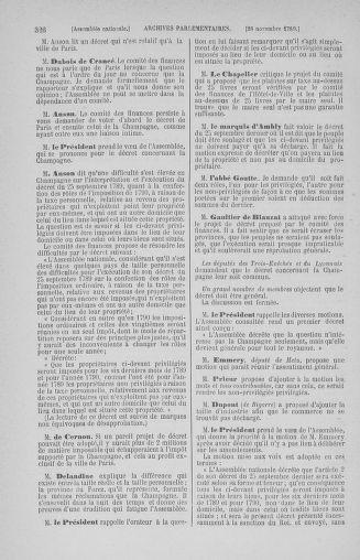 Tome 10 : Du 12 novembre au 24 décembre 1789 - page 326