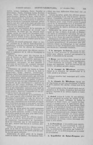 Tome 10 : Du 12 novembre au 24 décembre 1789 - page 343