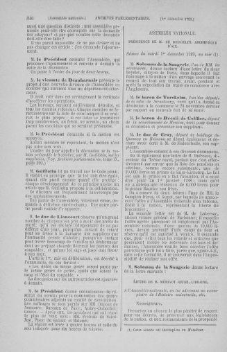 Tome 10 : Du 12 novembre au 24 décembre 1789 - page 346