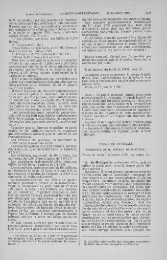 Tome 10 : Du 12 novembre au 24 décembre 1789 - page 409