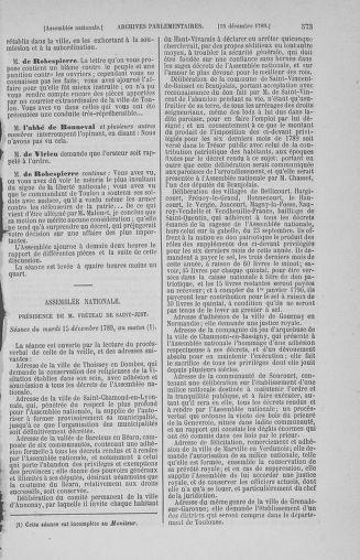 Tome 10 : Du 12 novembre au 24 décembre 1789 - page 573