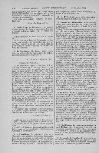 Tome 10 : Du 12 novembre au 24 décembre 1789 - page 676