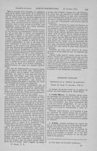 Tome 10 : Du 12 novembre au 24 décembre 1789 - page 689