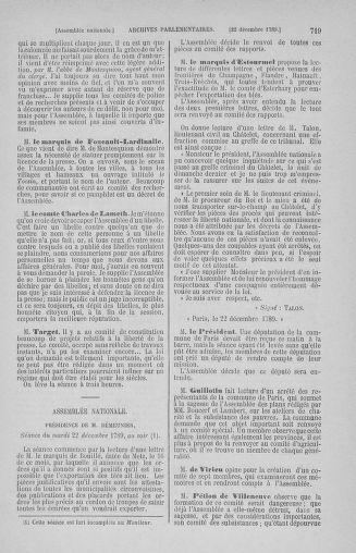 Tome 10 : Du 12 novembre au 24 décembre 1789 - page 719