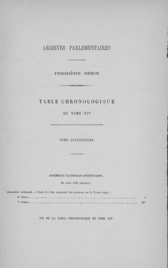 Tome 14 : Assemblée nationale consitutante du 20 avril 1790 - page 813