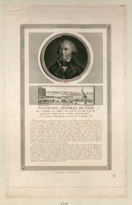 Pichegru, général en chef de l'armée du Nord, en l'an II et en l'an III [estampe]