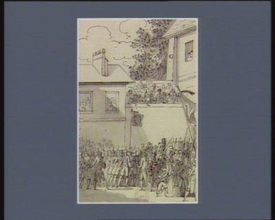 [Premier événement du quatorze juillet 1790] [dessin]