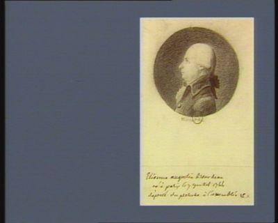 Etienne Augustin Bourdeau né à <em>Paris</em> le 7 juillet 1744 député du Perche à l'Assemblée : [dessin]