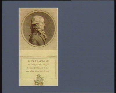 Pi. Fr. Beaudrap né à Valognes le 30 9.bre 1742 député de la noblesse de Coutance aux Etats généraux de 1789 : [estampe]