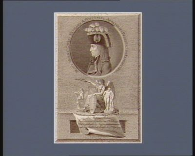 Beate vivent omnes nationes a potestate apostolica redente tua expeditione der Besieger Italiens Eroberer von Mantua am 2ten Febr. 1797... : [estampe]