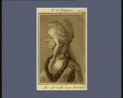 M. de Polignac ah ! ah ! voila mon portrait : [estampe]