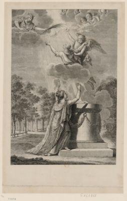 Fils de Saint Louis montez au ciel [estampe]