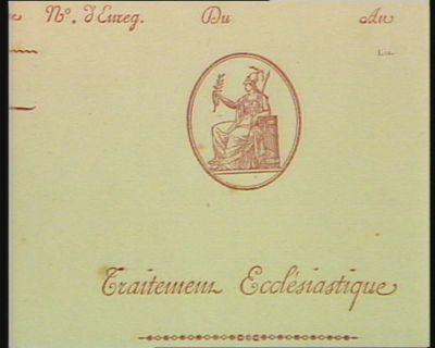 Traitement ecclésiastique [estampe]