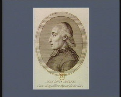 Jean Louis Gouttes curé d'Argelliers député de Béziers : [estampe]