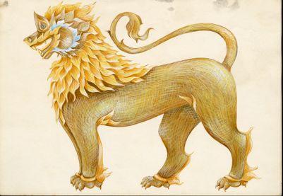 Cambodian artwork design