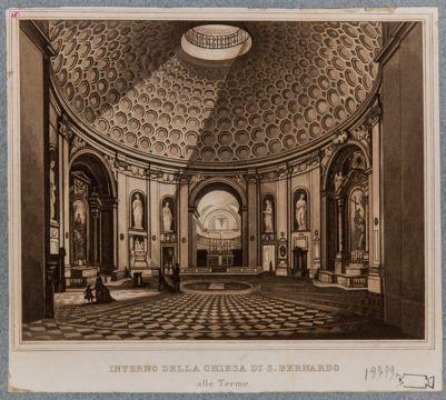 Chiesa di S. Bernardo alle Terme, interno