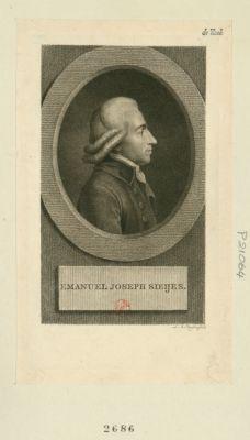 Emmanuel Joseph Sieijes [estampe]