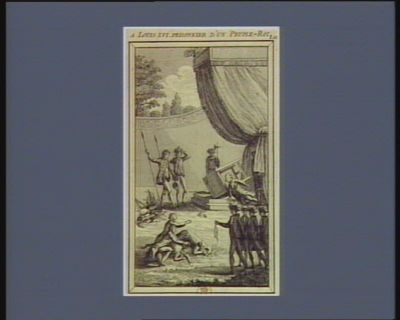 A Louis XVI prisonnier d'un peuple-roi Di patrii, servate domum, servate nepotum. Virg. aeneid. Lib.II : [estampe]