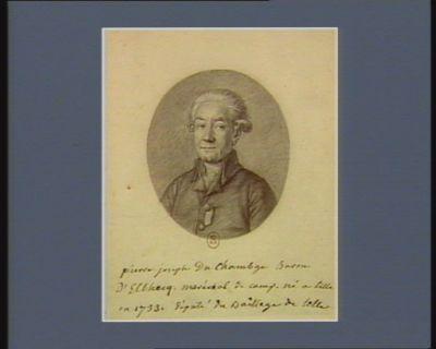 pierre joseph Du Chambge Baron d'Elbecq maréchal de camp. né à lille en 1733. député du Bailliage de lille : [dessin]