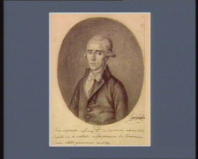 Louis Alphonse de Savary m.is de Lancosme né en 1750 depute de la noblesse de la province de Tourraine aux Etats generaux en 1789 : [dessin]