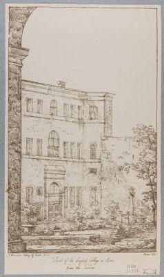 Palazzo del Collegio Inglese. Cortile