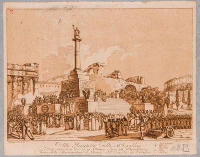 Foro Romano, festa della Repubblica tenuta nel Foro