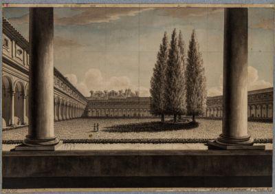 Terme Diocleziano, chiostro dei Certosini