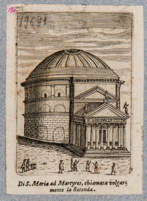 Chiesa di S. Maria ad Martyres, chiamata volgarmente la Rotonda