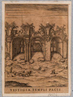 Basilica di Costantino, veduta d'insieme