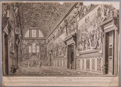 Palazzo Vaticano. Scala Regia