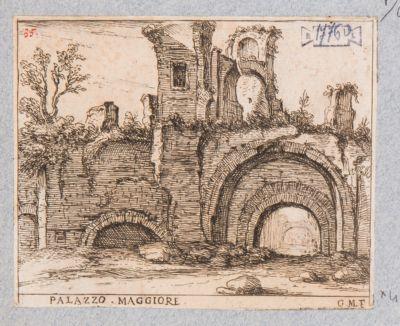 Palatino, resti di parte della Domus Severiana