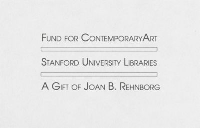 Joan B. Rehnborg Fund for Contemporary Art