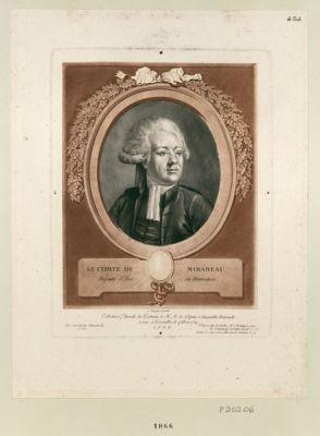 Le  Comte de Mirabeau député d'Aix-en-Provence : [estampe]