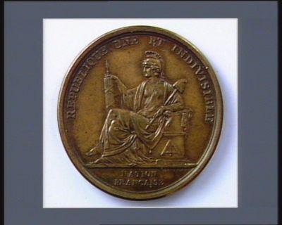 [Monnaie ou médaille <em>de</em> la Révolution française]