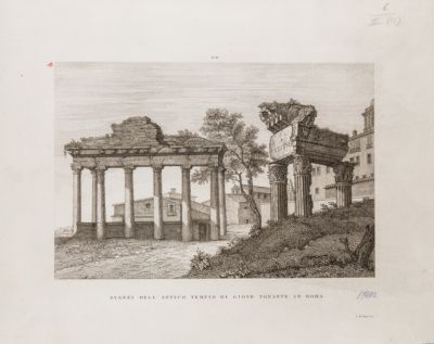 Clivio Capitolino e tempio di Saturno